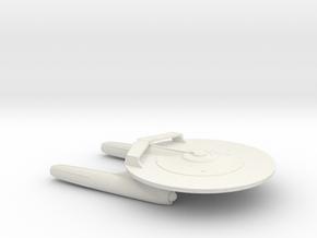 USS Defiant (2009) / 10.4cm - 4in in White Natural Versatile Plastic