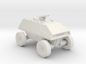 Buggy Landram 160 Scale in White Natural Versatile Plastic