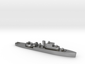 HMS Grimsby 1:1800 WW2 escort sloop in Natural Silver