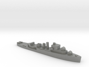 HMS Bittern 1:2400 WW2 sloop in Gray PA12