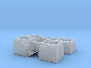 HO/1:87 Pickup caps set kit for VW Amarok in Smooth Fine Detail Plastic