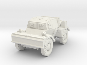 Daimler Dingo mk2 (closed) 1/87 in White Natural Versatile Plastic