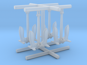 1/600 USN Anchor Set in Smooth Fine Detail Plastic