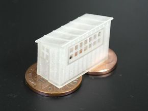 Scale House N scale (1/160) in Smooth Fine Detail Plastic