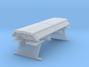 """PAA21 BIS """"PAA"""" sand hopper wagon  in Smooth Fine Detail Plastic"""