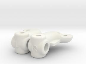 SA2 BF10 Dyna Blaster / Dyna Storm / TR-15T Knuckl in White Natural Versatile Plastic