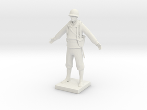 Printle V Homme 649 - 1/24 in White Natural Versatile Plastic