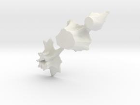 O Scale stumps 2 in White Natural Versatile Plastic