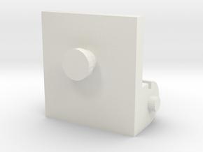 Classics Prowl Neck Plate in White Premium Versatile Plastic