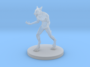 Werewolf  in Smooth Fine Detail Plastic