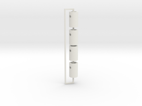 AYK RADIANT FRONT POST RZ20 in White Natural Versatile Plastic