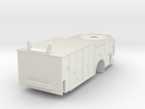 1/87 Rosenbauer Single Axle Viper Body in White Natural Versatile Plastic