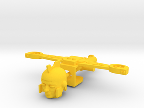 Kreon Space Glider Kit in Yellow Processed Versatile Plastic