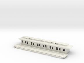 Bo3 - Swedish passenger wagon in White Natural Versatile Plastic