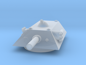 Tiger Heavy Grav Tank MSL Turret 15mm in Smoothest Fine Detail Plastic