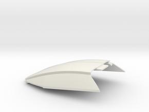 1:24 LTM windshield (for Slot Car Model) in White Natural Versatile Plastic