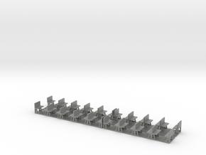 Studenka Ca 1500 - 1504 Stühle in Gray PA12