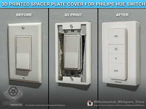 Philips Switch Decora Plate (Set of 4 Discounted) in White Natural Versatile Plastic