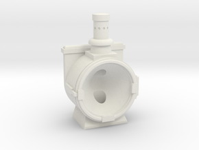 NS olielamp in White Natural Versatile Plastic