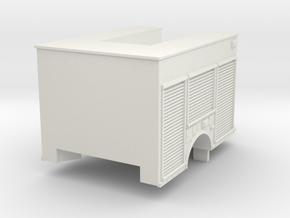 1/87 Generic Light Heavy Rescue in White Natural Versatile Plastic