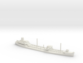 1/1250 Scale Suamico Class T-2 Oiler in White Natural Versatile Plastic
