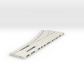 p-14stw-left-point-100-1a in White Natural Versatile Plastic