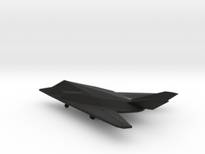 Lockheed F-117 Nighthawk in Black Natural Versatile Plastic: 6mm