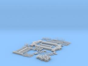 HO/1:87 Straddle Carrier, kit in Smooth Fine Detail Plastic