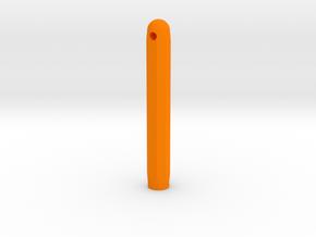 Varita Pen Body 8 sides short in Orange Processed Versatile Plastic