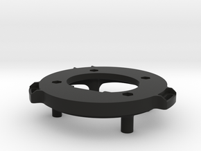 Retrofit Adaptor (Passenger Side) in Black Natural Versatile Plastic