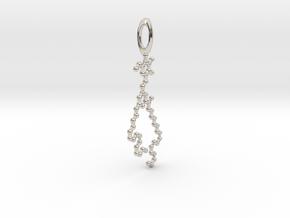 MGDG pendant in Platinum