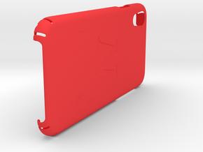 "iPhone Xr Phone Case - ""N"" in Red Processed Versatile Plastic"