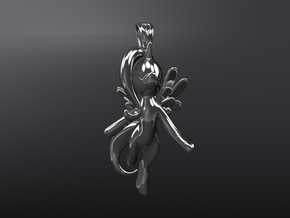 My Little Pony - Alicorn Pendant in Polished Silver