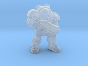Starcraft Marine Bolter 1/60 miniature games rpg in Smooth Fine Detail Plastic