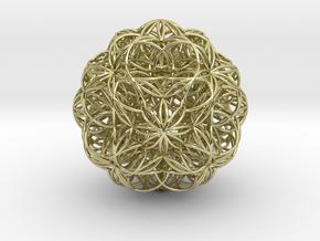 Malek Tous Transponding Radiation Stable in 18k Gold Plated Brass
