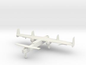 (1:144) Focke-Wulf Fw 42 First Design (Gear down) in White Natural Versatile Plastic