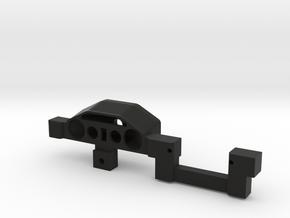 Proline Late Model Interior Dash Volt meter holder in Black Natural Versatile Plastic