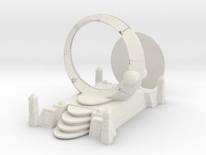 Deathbot Space Portal Terrain  in White Natural Versatile Plastic