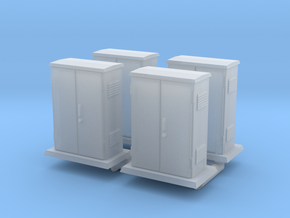 Padmount  Electrical Box 01. 1:72  Scale in Smooth Fine Detail Plastic