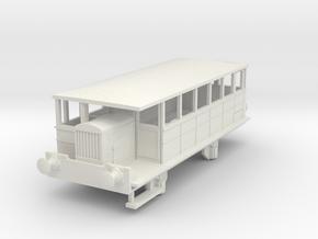 0-76-spurn-head-hudswell-clarke-railcar in White Natural Versatile Plastic