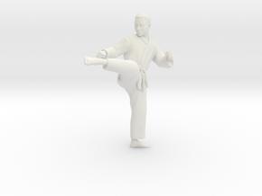 Printle C Homme 700 - 1/12 - wob in White Natural Versatile Plastic