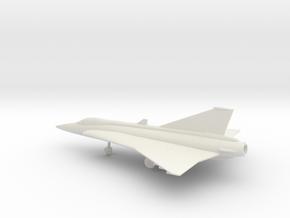 Saab J.35 Draken in White Natural Versatile Plastic: 1:100