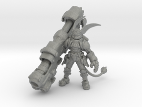 Ratchet 1/60 miniature for games and rpg in Gray PA12