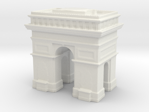 Arc de Triomphe 1/1200 in White Natural Versatile Plastic