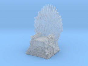 Game Of Thrones Iron Throne 1/60 miniature games in Smooth Fine Detail Plastic