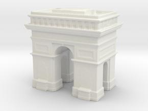 Arc de Triomphe 1/1250 in White Natural Versatile Plastic
