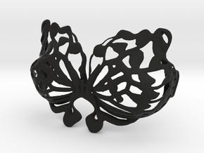 DIY Assembly Bra - butterfly design 3 in Black Natural Versatile Plastic