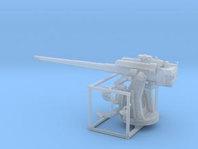 1/72 IJN Type 10 120mm Dual Purpose Gun in Smooth Fine Detail Plastic