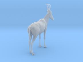 Lelwel Hartebeest 1:22 Standing Male in Smooth Fine Detail Plastic