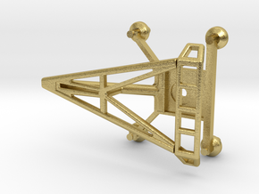 O Scale Pantograph in Natural Brass